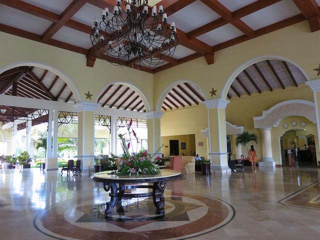 Iberostar Ensenachos Hotel Lobby in Cayo Santa Maria