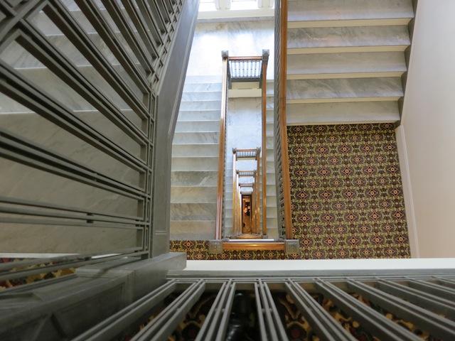 Fairmont Hotel Macdonald Edmonton stairwell
