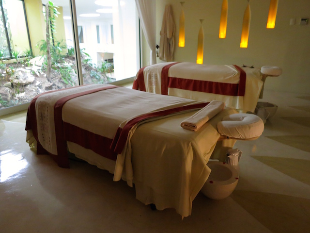 Couples suite Grand Velas Riviera Maya spa