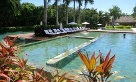Zen pool Grand Velas Riviera Maya food romance