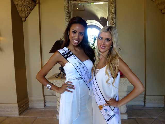 Miss South Africa hopefuls at Sun City South Africa