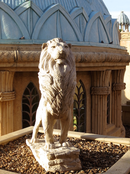 Lion Sun City South Africa Palace of the Lost City