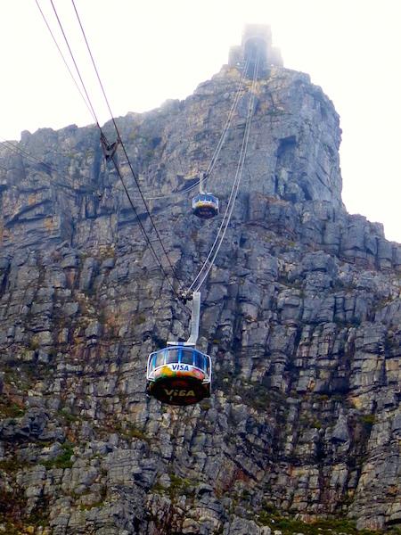 What to see in Cape Town, Cable Car up Table Mountain