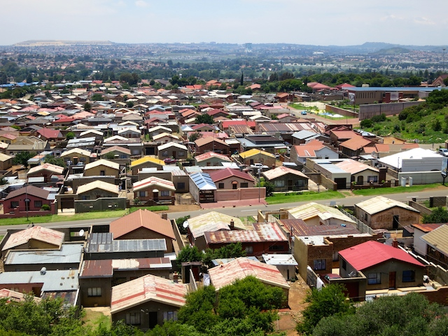 One day in Johannesburg, touring Soweto