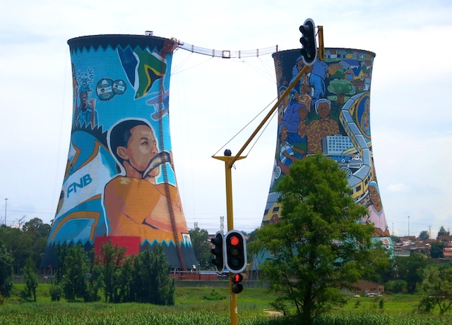 One day in Soweto, Orlando Towers