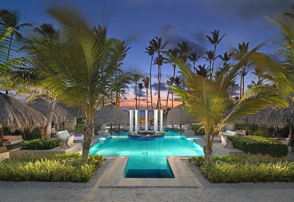 Tropical island luxury, Paradisus Palma Real in Dominican Republic