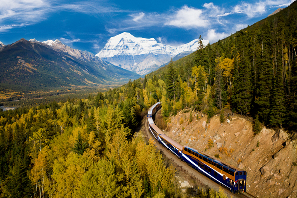 A rail ride with Rocky Mountaineer, Mount Robson