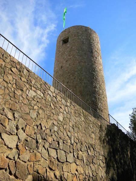 Castle of Sant Joan One day in Lloret de Mar Spain
