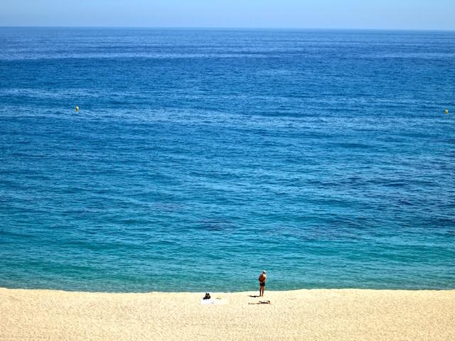 Lloret de Mar beach Costa Brava Spain