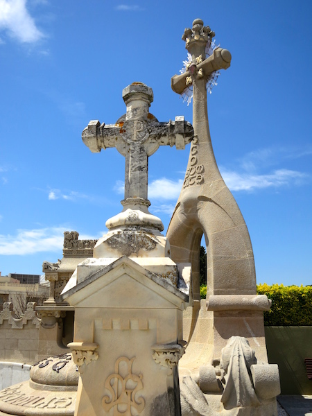 Modernist Cemetery One Day in Lloret de Mar Costa Brava Spain