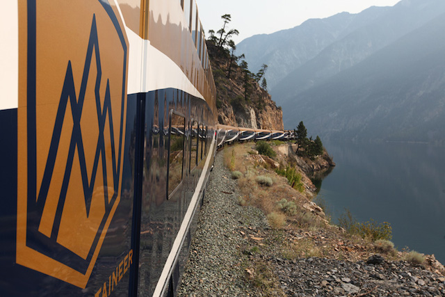 A rail ride with Rocky Mountaineer Train