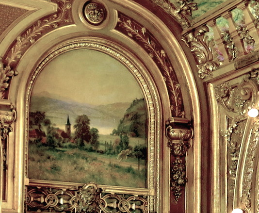 French-landscape-painting-in-Le-Train-Bleu-Gare-de-Lyon