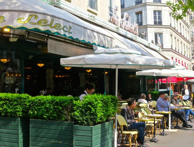 Historic Montparnasse cafes, Le Select, Paris