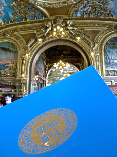 Le Train Bleu, best restaurant Paris, Gare de Lyon