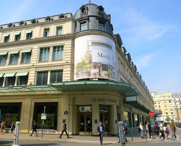 Things to see in Paris, Le Bon Marche department store