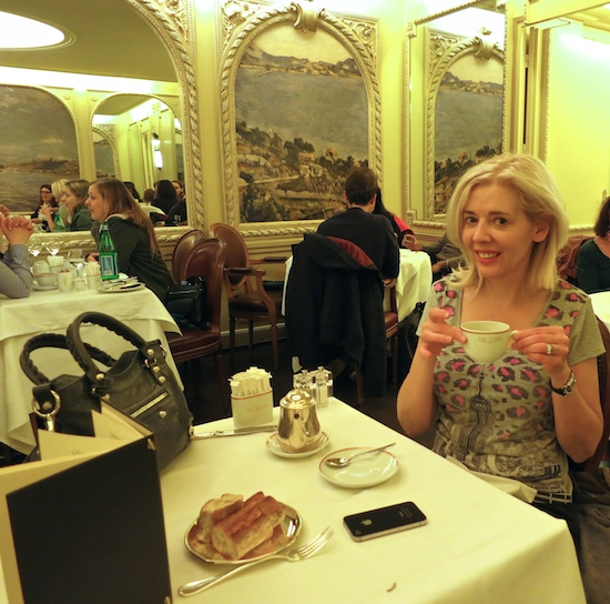 Angelina Teahouse in the footsteps of Coco Chanel in Paris