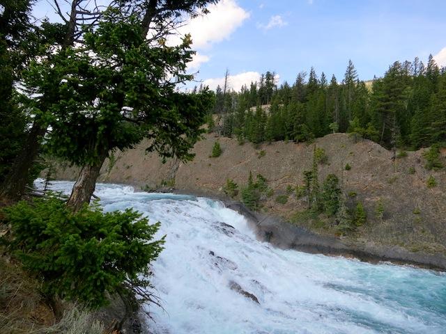 Bow Falls, Banff, Canada near Fairmont Banff Springs