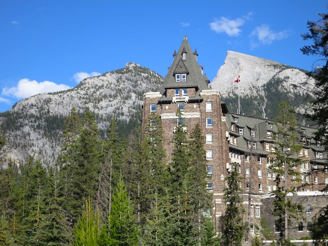Fairmont Banff Springs Hotel, Canadian Rockies train journeys