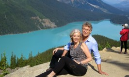 WanderingCarol and Mark Peyto Lake Brewster Tour