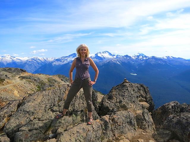 WanderingCarol A Nita Lake Lodge in Whistler Creekside review, mountains