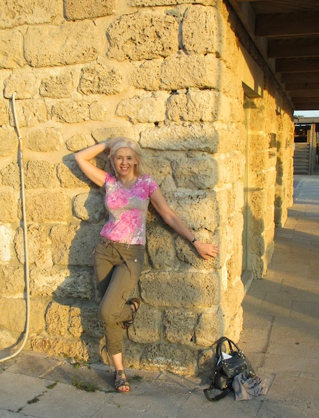 Caesarea in Israel Wandering Carol