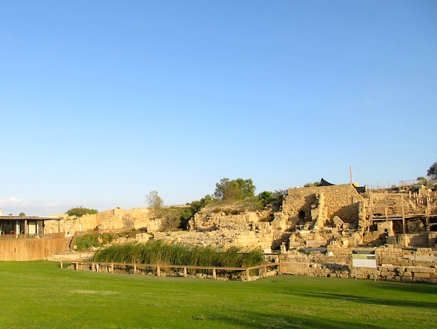 Caesarea in Israel, ruins