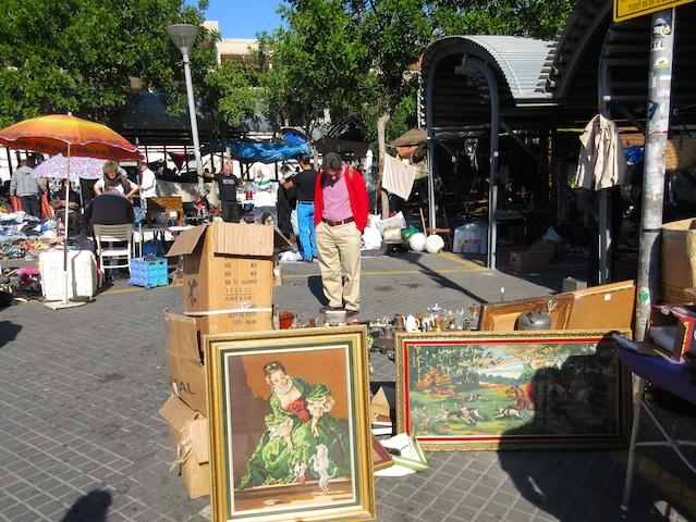 One day in Jaffa, Flea Market
