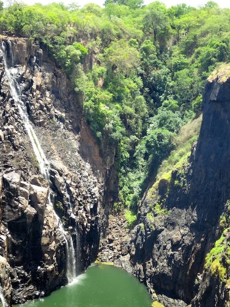 Victoria Falls Devil's Pool extreme adventure travel