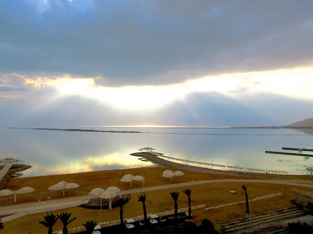 Israel Dead Sea landscape