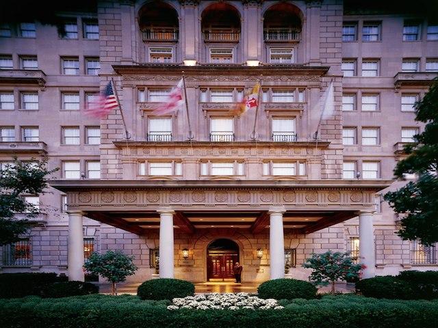 One day in Washington DC hay-adams-hotel