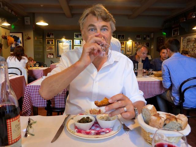 Lyon Restaurants, my husband in Daniel & Denise