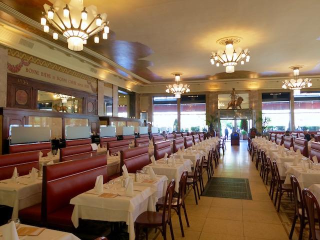 Lyon restaurants, Brasserie George