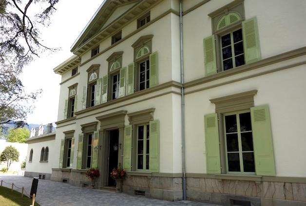 Charlie Chaplin's house in Vevey Switzerland
