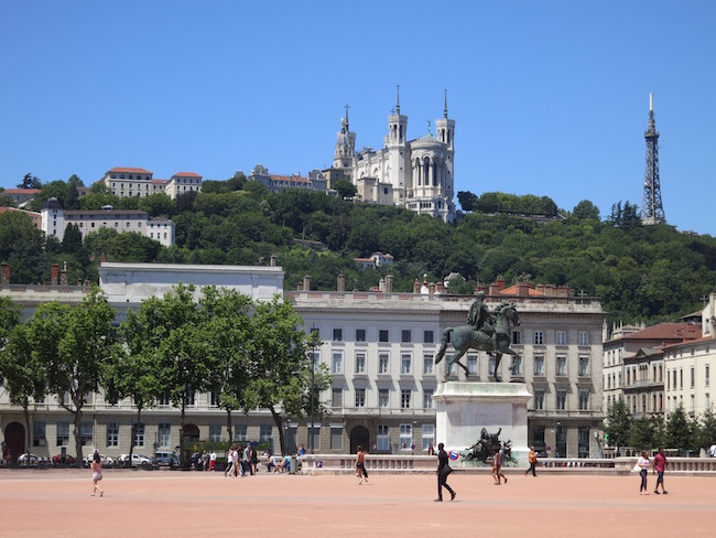 What to do in Lyon, Bellecour Square