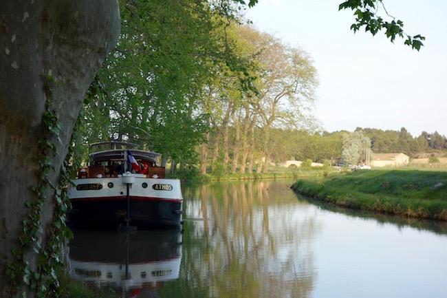 Athos barge, Canal du Midi cruises