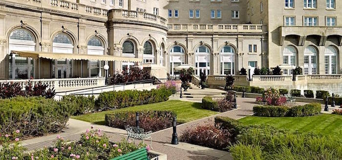 Celebrity gossip Fairmont Macdonald Hotel