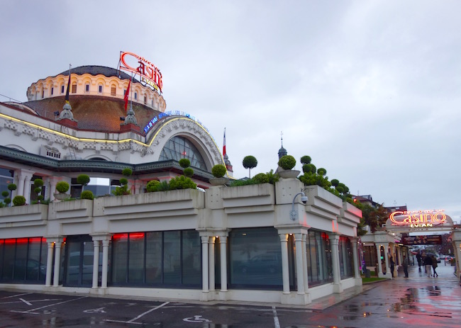 One day in Evian-les-Bains, casino