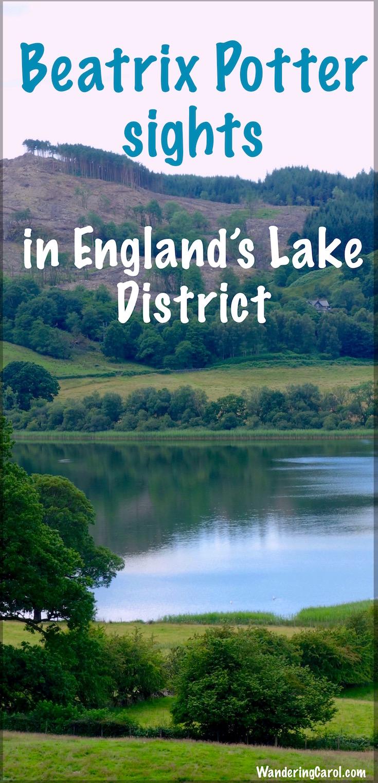 Beatrix Potter Lake District Pinterest image
