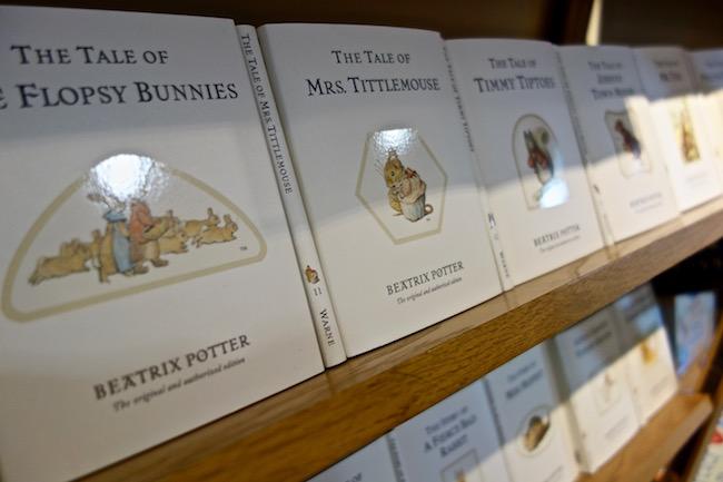 Beatrix Potter books Lake District