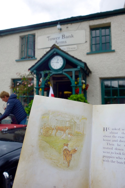 Beatrix Potter sights in the Lake District Tower Bank Arms