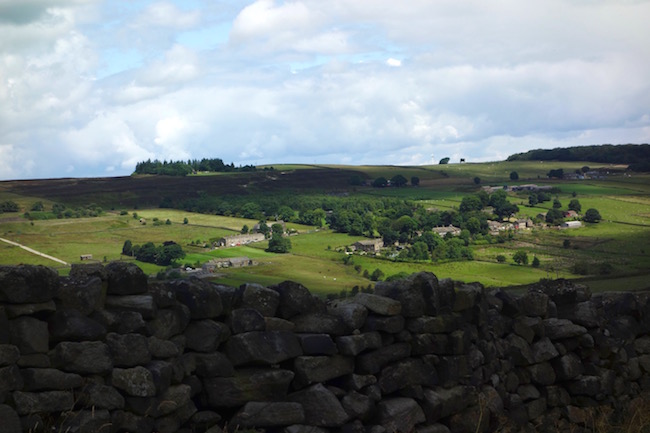 Bronte country, Bronte Walks tour Haworth England