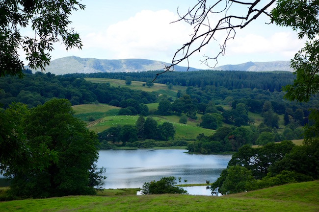Esthwaite Water Lake District England