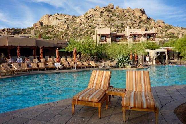 Four Seasons Scottsdale Resort swimming pool