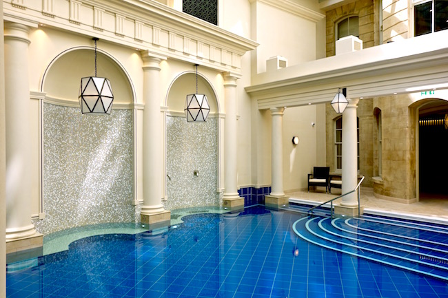 Gainsborough Bath Spa hotel pools