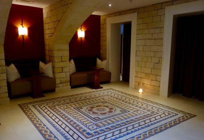 Gainsborough Bath Spa hotel roman mosaic