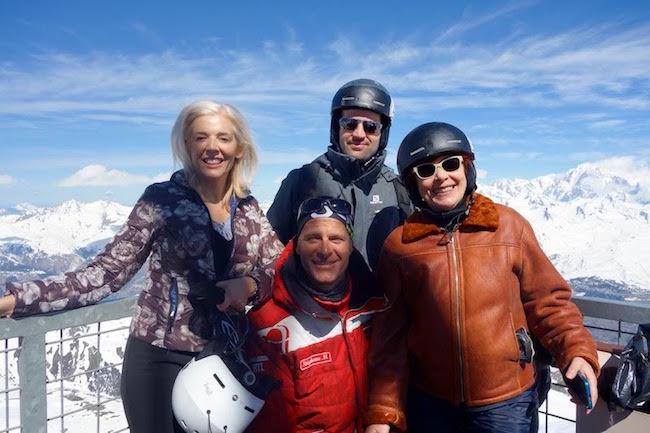 Ski lessons at Club Med Peisey Vallandry