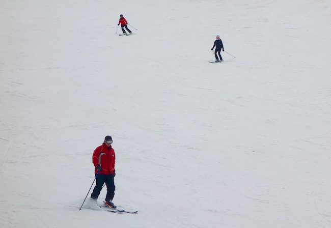 Skiing in the French Alps at Club Med
