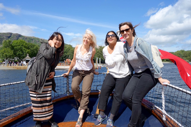 Things to do in the Lake District England, Coniston Gondola yacht