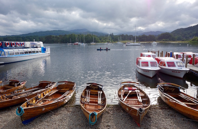 Things to do in the Lake District, go boating