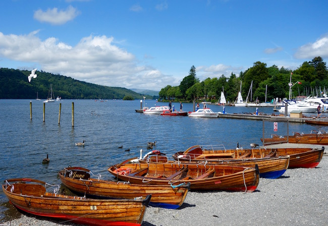 Things to do in the Lake District visit Lake Windermere